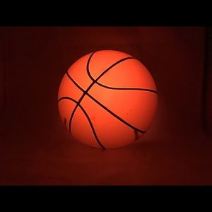 Basketball wall light